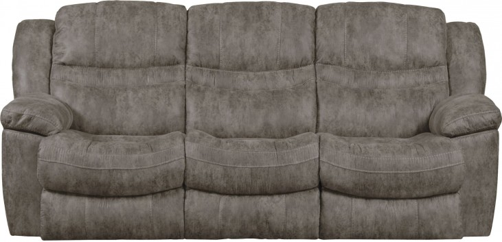 Valiant Marble Reclining Sofa With Drop Down Table