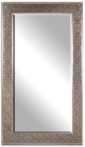 Villata Antique Silver Mirror