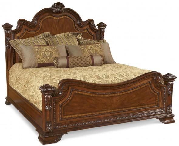 Old World Cal. King Estate Bed