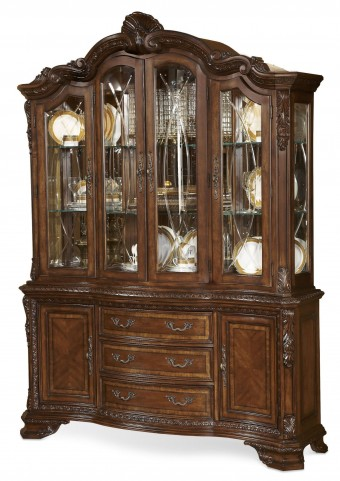 Old World China Cabinet