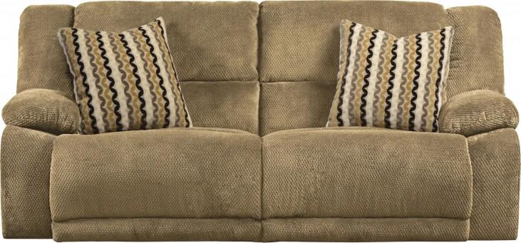 Hammond Coffee Reclining Sofa