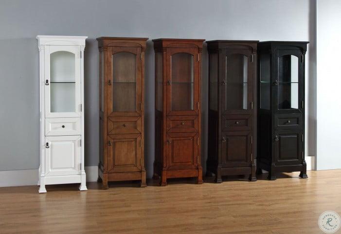 Brookfield Warm Cherry Linen Cabinet