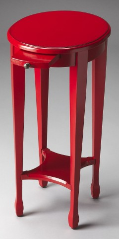 Butler Loft Arielle Red Round Accent Table