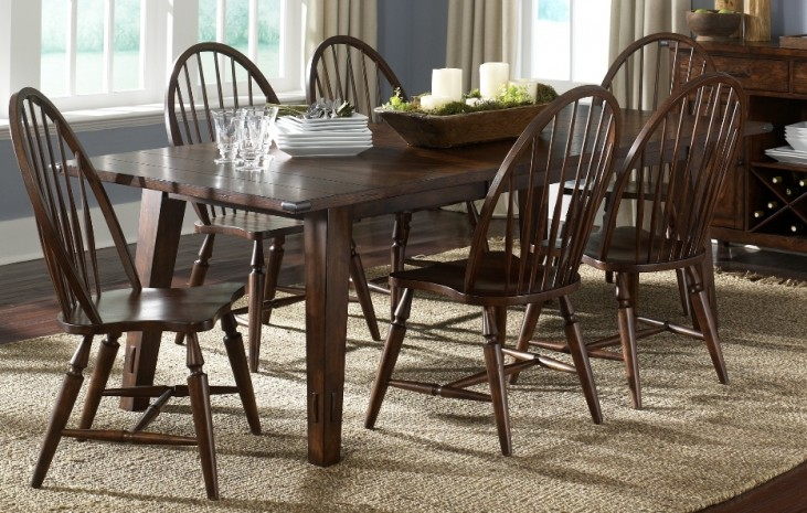 Cabin Fever Rectangular Dining Set