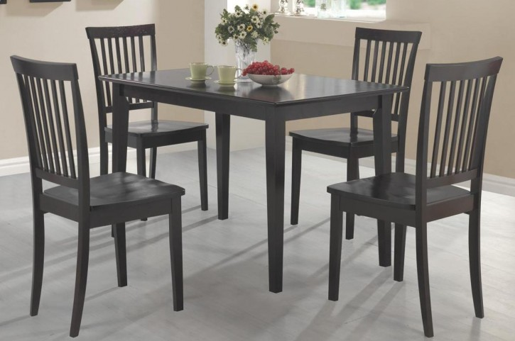 Oakdale Cappuccino 5 Pcs Dining Room Set