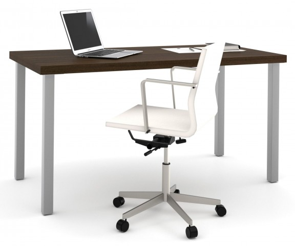 "i3 Tuxedo 30.5"" Metal Leg Table"