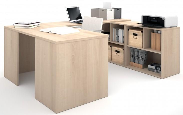 150880-38 i3 Northern Maple U-Shaped desk