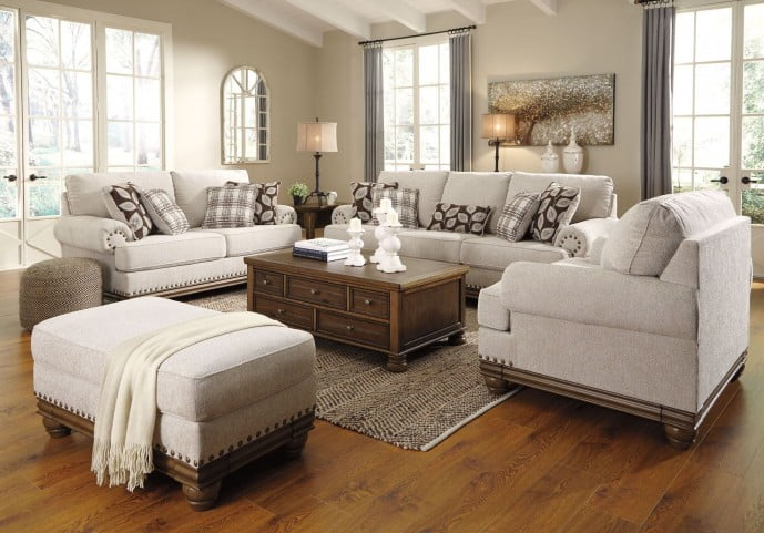 Harleson Wheat Living Room Set from Ashley | Coleman Furniture