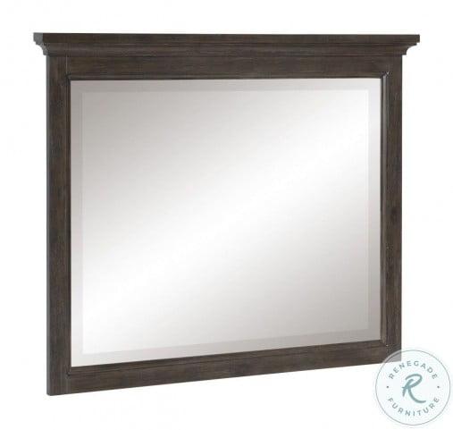 Sandpoint Gray Mirror