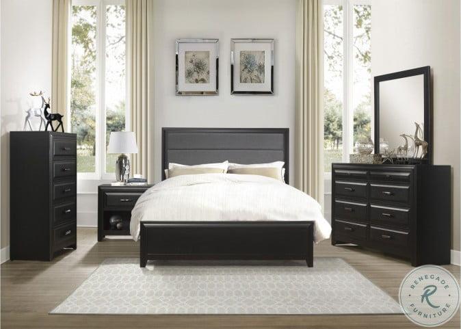 Cordelia Espresso Panel Bedroom Set