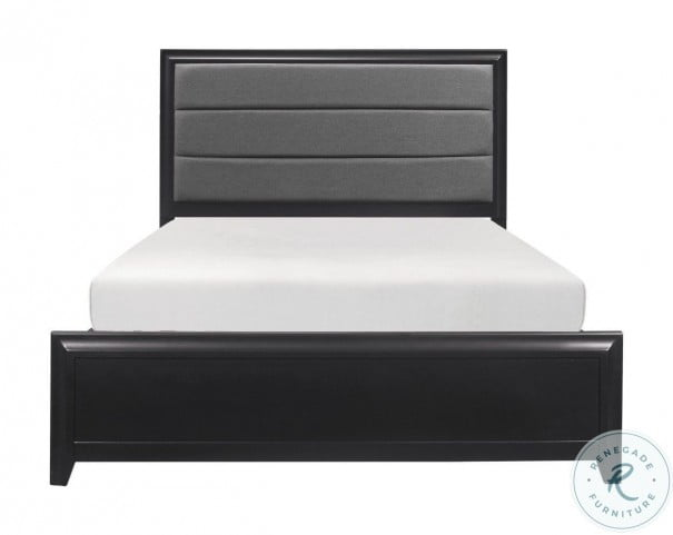 Cordelia Espresso Cal. King Panel Bed