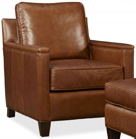 Alexander Berkshire Maple Leather Chair