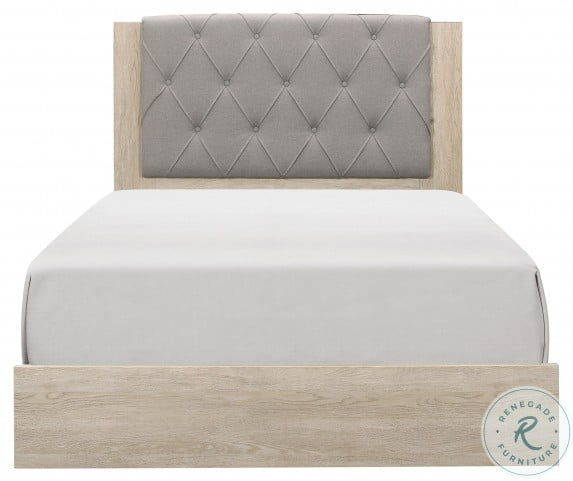 Whiting Cream Full Panel Bed In A Box