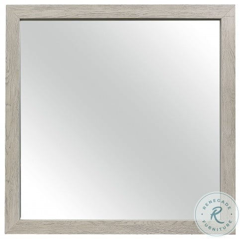 Quinby Light Brown Mirror