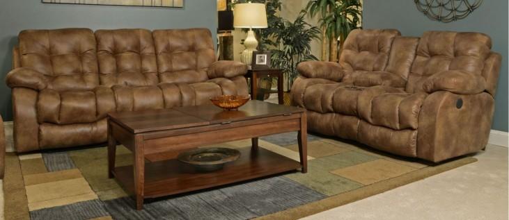 Watson Almond Reclining Living Room Set