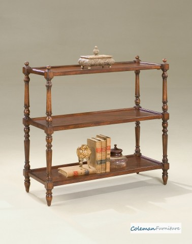 Plantation Cherry 3-Tier Console Table