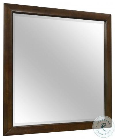Aziel Walnut Mirror