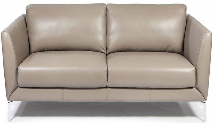 Anvers Adobe Leather Loveseat