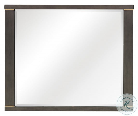 Scarlett Brownish Gray Mirror