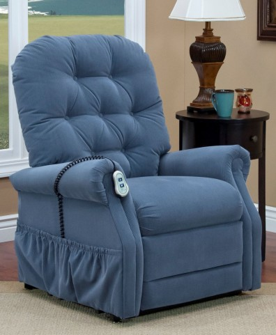 Aaron Williamsburg Blue Petite Two Way Reclining Lift Chair