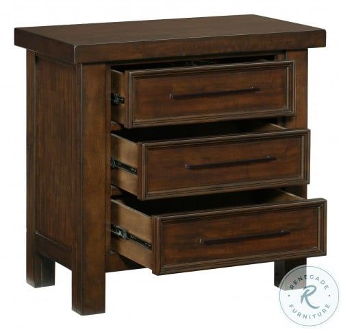 Logandale Brown Nightstand