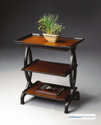 Traditional Cherry 1570109 Side Table