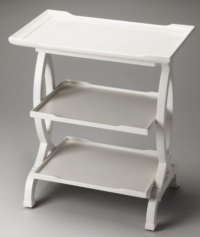 Kimiko Loft Glossy White Side Table