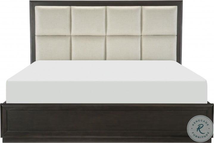 Hodgin Brown King Platform Bed