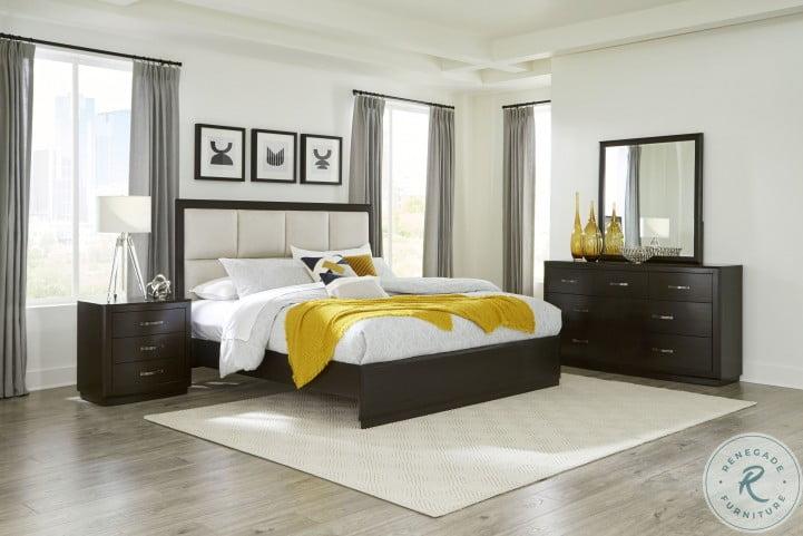 Hodgin Brown Platform Bedroom Set