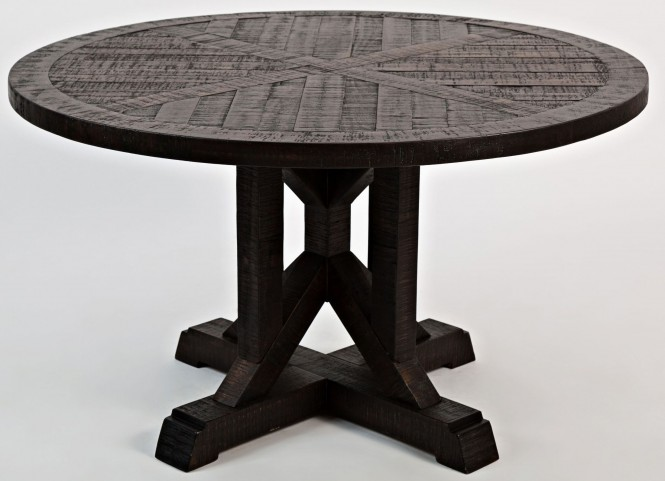 Pacific Heights Chestnut Round Cocktail Table
