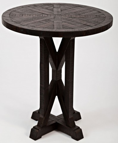 Pacific Heights Chestnut Round End Table