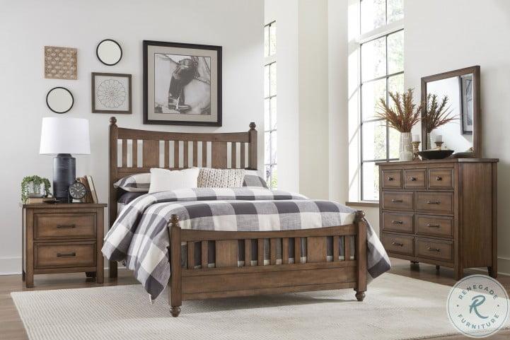 Brevard Brown Cal. King Panel Bed