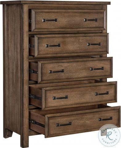 Brevard Brown Panel Bedroom Set