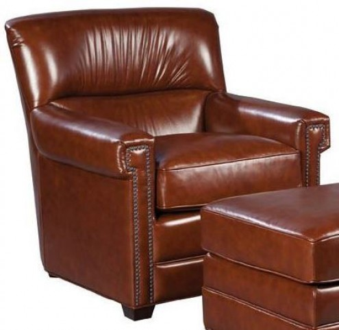Victor Brooklyn Saddle Leather Chair