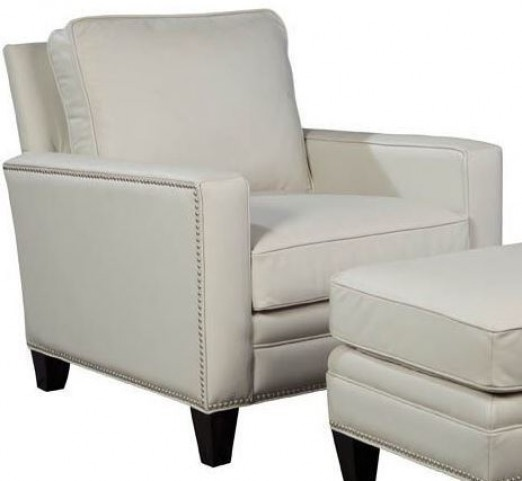 Halston Coast Shell Leather Chair
