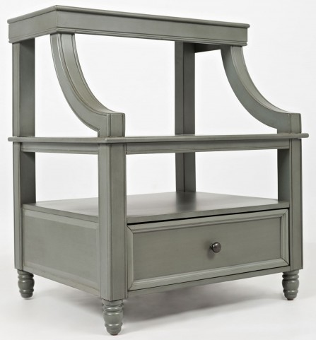 Avignon Grey Step Up Nightstand