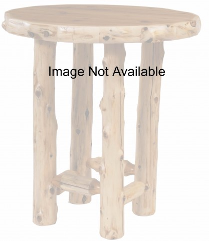 "Cedar 36"" Round Armor Pub Table"