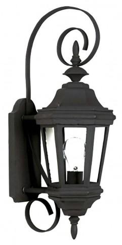 Estate Black Small Wall Lantern