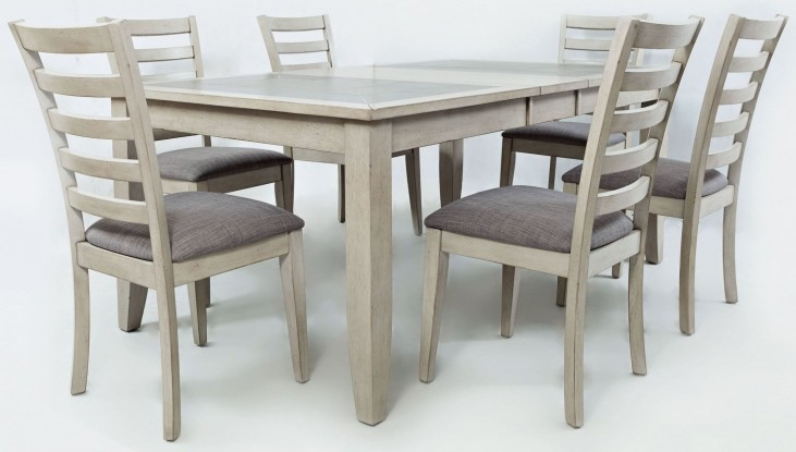 Sarasota Springs Tiled Extendable Dining Room Set