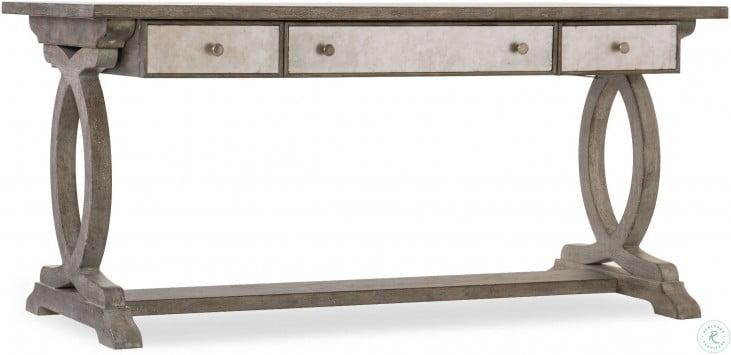 Tremendous Rustic Glam Light Wood Trestle Desk Download Free Architecture Designs Embacsunscenecom