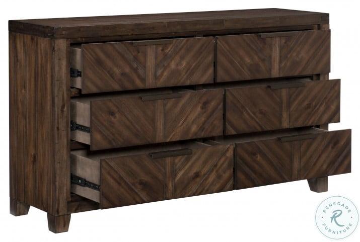 Parnell Rustic Cherry Dresser