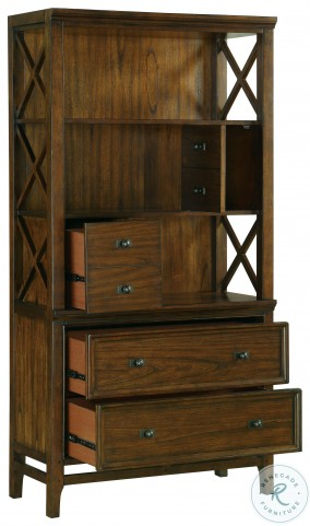Frazier Brown Cherry Bookcase