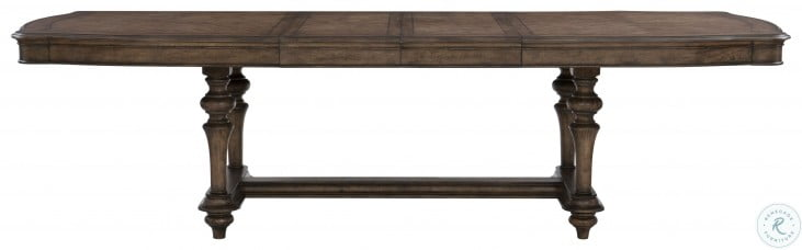 Heath Court Brown Oak Extendable Dining Table
