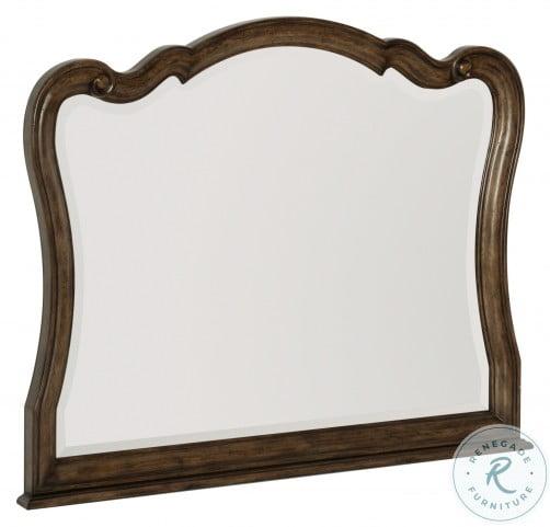 Heath Court Brown Oak Mirror