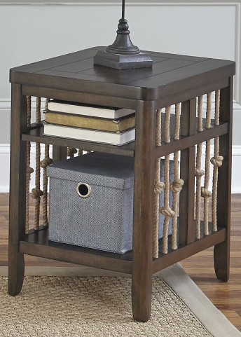 Dockside Tobacco Chair Side Table