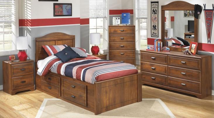 Barchan Youth Panel Underbed Storage Bedroom Set