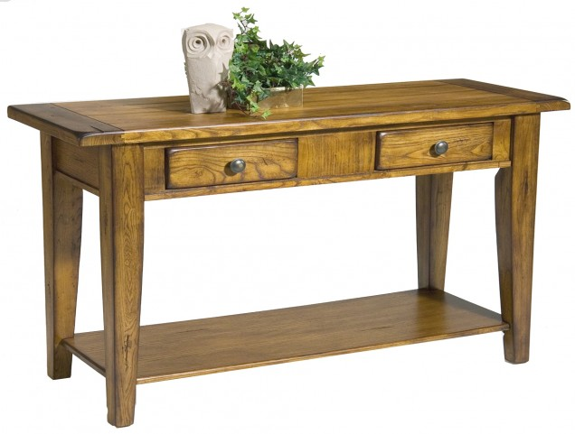 Treasures Oak Sofa Table