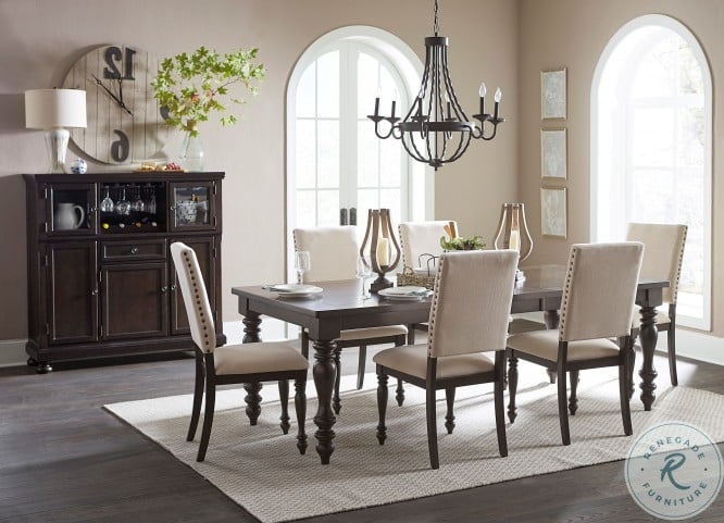 Begonia Gray Extendable Dining Room Set