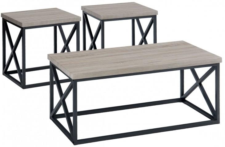 Orion Ash 3 Piece Occasional Table Set