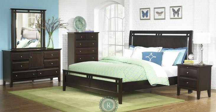 Verano Panel Bedroom Set